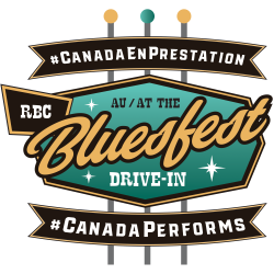 #CanadaPerforms at the RBC Bluesfest Drive In